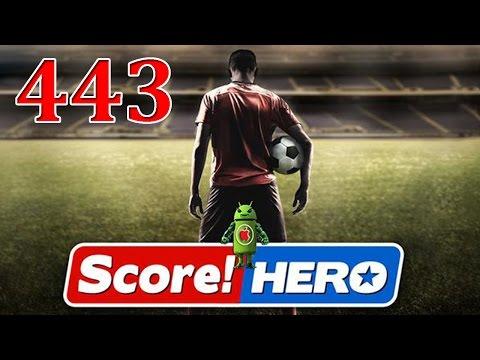 Score Hero Level 443 Walkthrough - 3 Stars