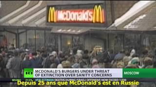 Mc Donald's dans la ligne de mire de Moscou  S/T