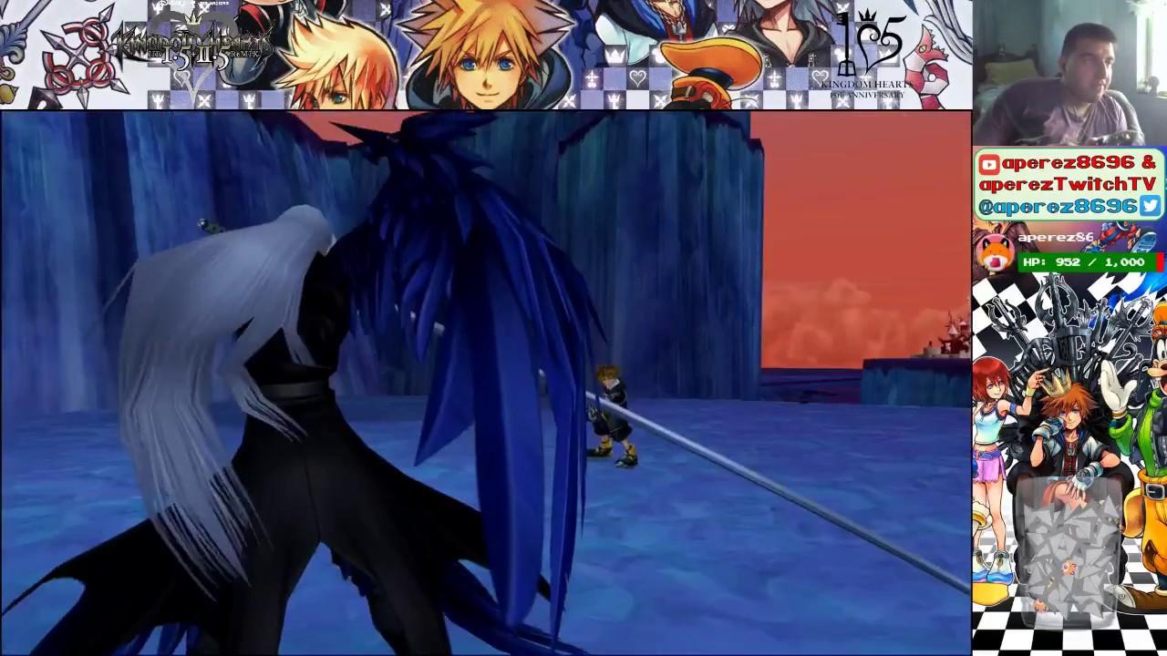 Kingdom Hearts Ii Final Mix Sephiroth Fight Level 51