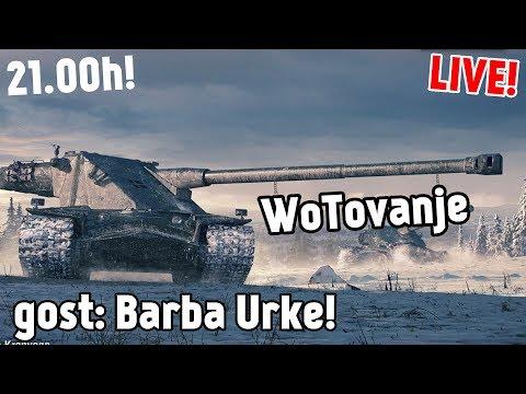 LIVE: WOT sa Barba Urketom (+Kojot i ostali!)