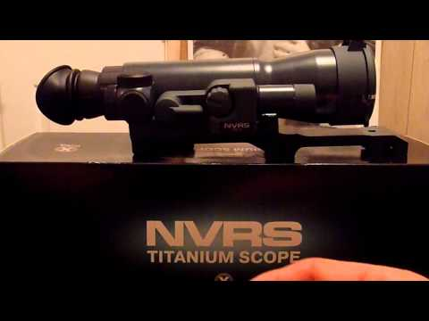 Armasight orion 4x gen 1  night vision rifle scope review