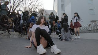 Sixth Sense | 브라운아이드걸스 - 댄스팀 너의소녀 홍대 버스킹 chulwoo 직캠(Fancam)