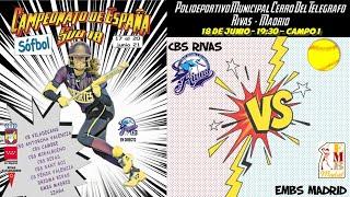 CBS RIVAS vs EMBS MADRID - 19:30 - GRUPO A - FASE CLASIFICACIÓN