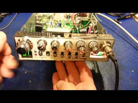 Midland 9001Z CB radio with horrible digital noise in audio circuit.