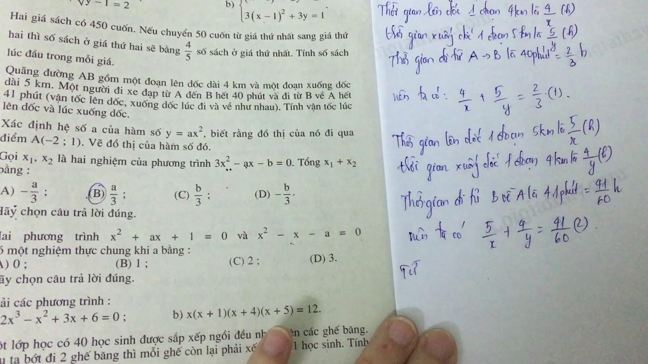 Giải bài 12 trang 133 SGK toán 9 tập 2