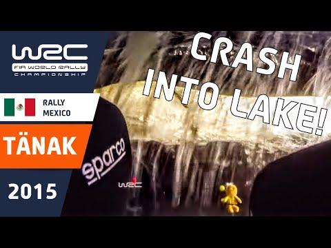 WRC Rally Guanajuato México 2015: Onboard Tänak CRASH!