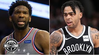 Nets can win series if Joel Embiid is not healthy– Zach Lowe | Woj & Lowe