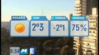 #Tiempo #Rosario #Pronóstico #19de Julio #SomosRosario