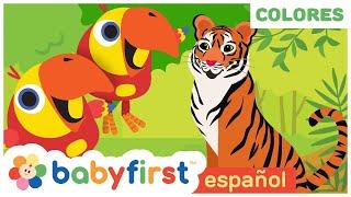 Videos Educativos para Niños | Nuevas Palabras para Bebés con larry el loro | BabyFirst Español