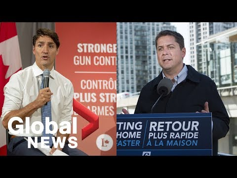 Canada Election Party Leaders Clash In First Election