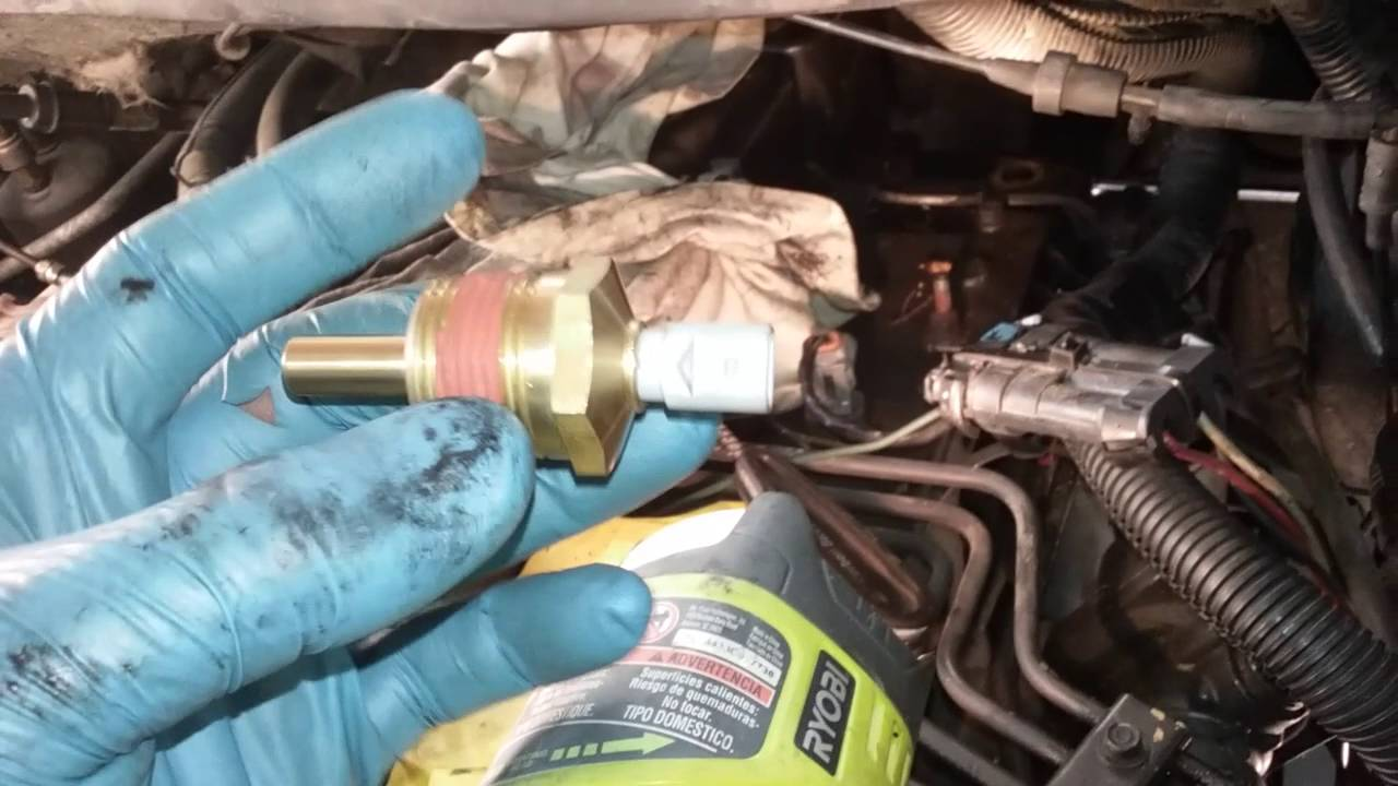 cummins 5 9 12 valve coolant sensor replacement YouTube