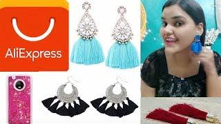 AliExpress haul | SCAM? | Tassel earrings | Phone cases | Tina _happines