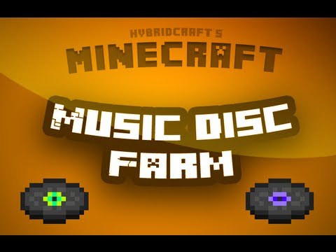 Minecraft Tutorial - How to make a music disc farm [VERY EASY]