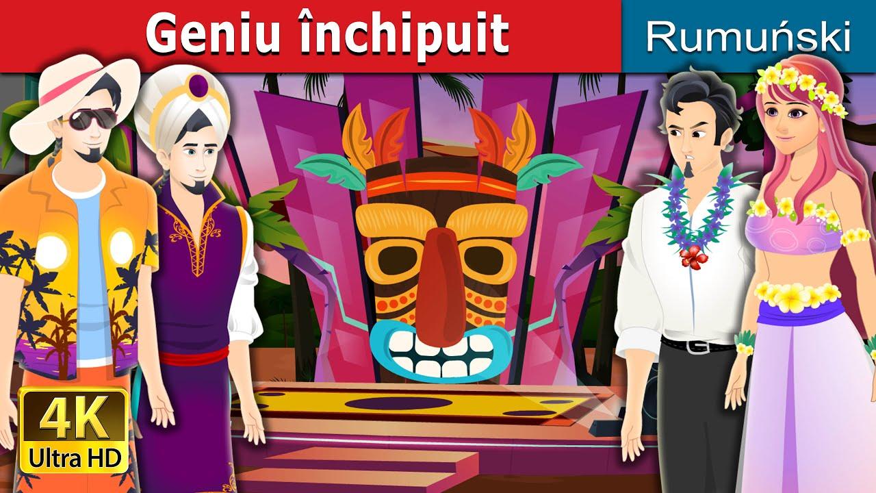 Geniu închipuit | Bad Genie Story in Romanian | Romanian Fairy Tales