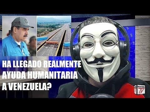 Lo Que los Medios Te Ocultan de la Ayuda Humanitaria Llegada a Venezuela
