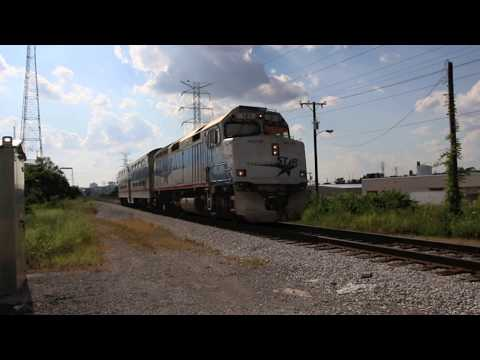 Music City Star Trains at Fesslers Lane