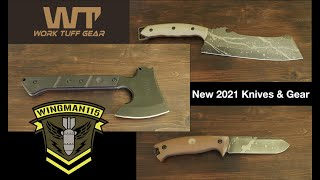 NEW 2021 Work Tuff Gear Knives And Gear