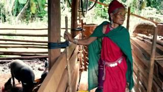 【ミャンマー旅3】原住民族カヤ族の高床式住居に上がった/Kaya,Dawthama Kaya people