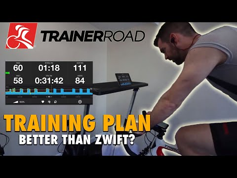 TrainerRoad Training Plan: Is it better than Zwift