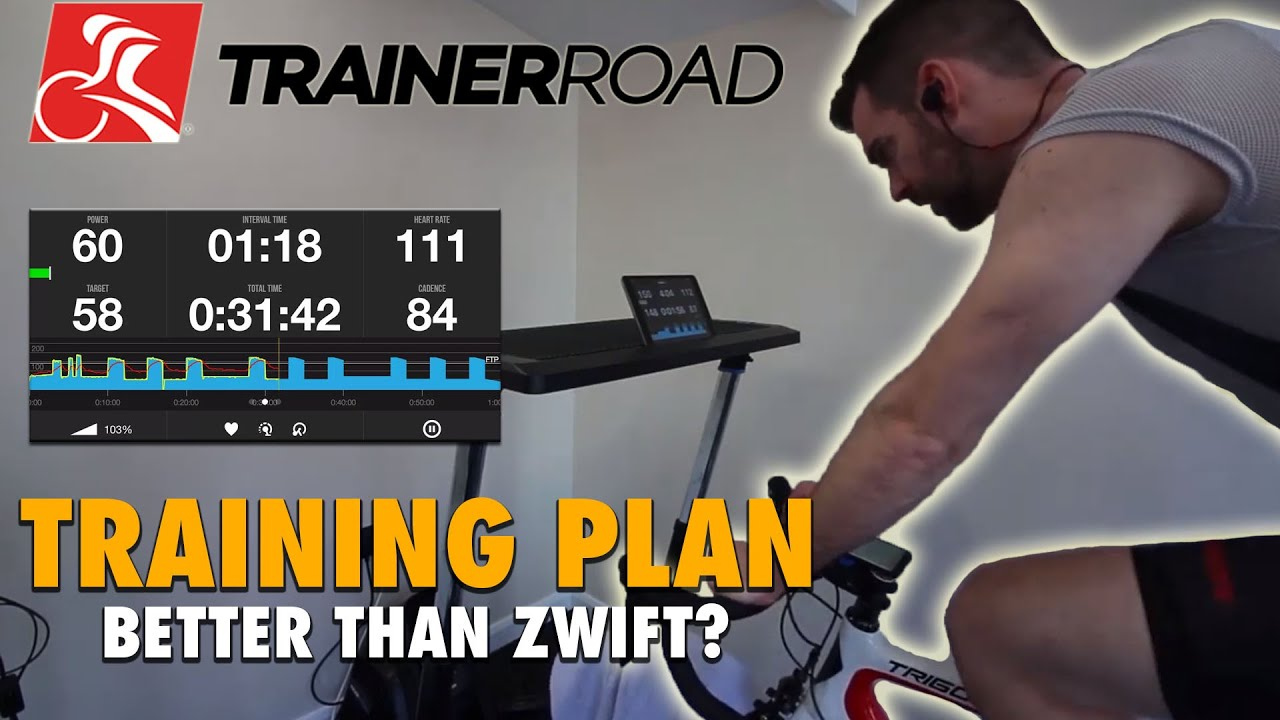 TrainerRoad Training Plan: Is it better than Zwift? - Episode 1