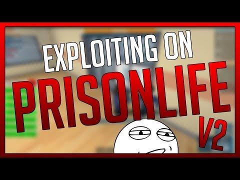 ROBLOX - EXPLOITING AT PRISON LIFE V2