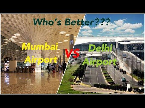 Mumbai Airport (CSIA) VS Delhi Airport (IGIA) [2018]