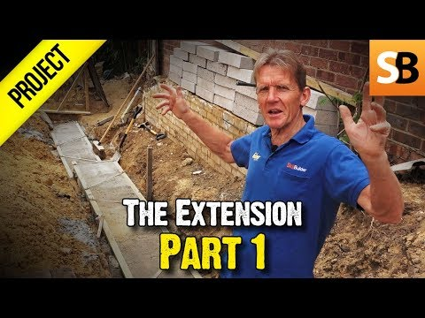 The Extension Project - Part 1 (Setting out)