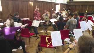 Oxford University Philharmonia (OUPhil) Rehearsal Snippets Trinity 2013