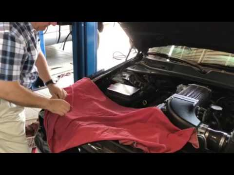 Challenger Mopar Hood Pin Installation Youtube