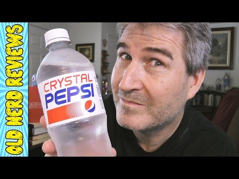 NEW Crystal Pepsi REVIEW