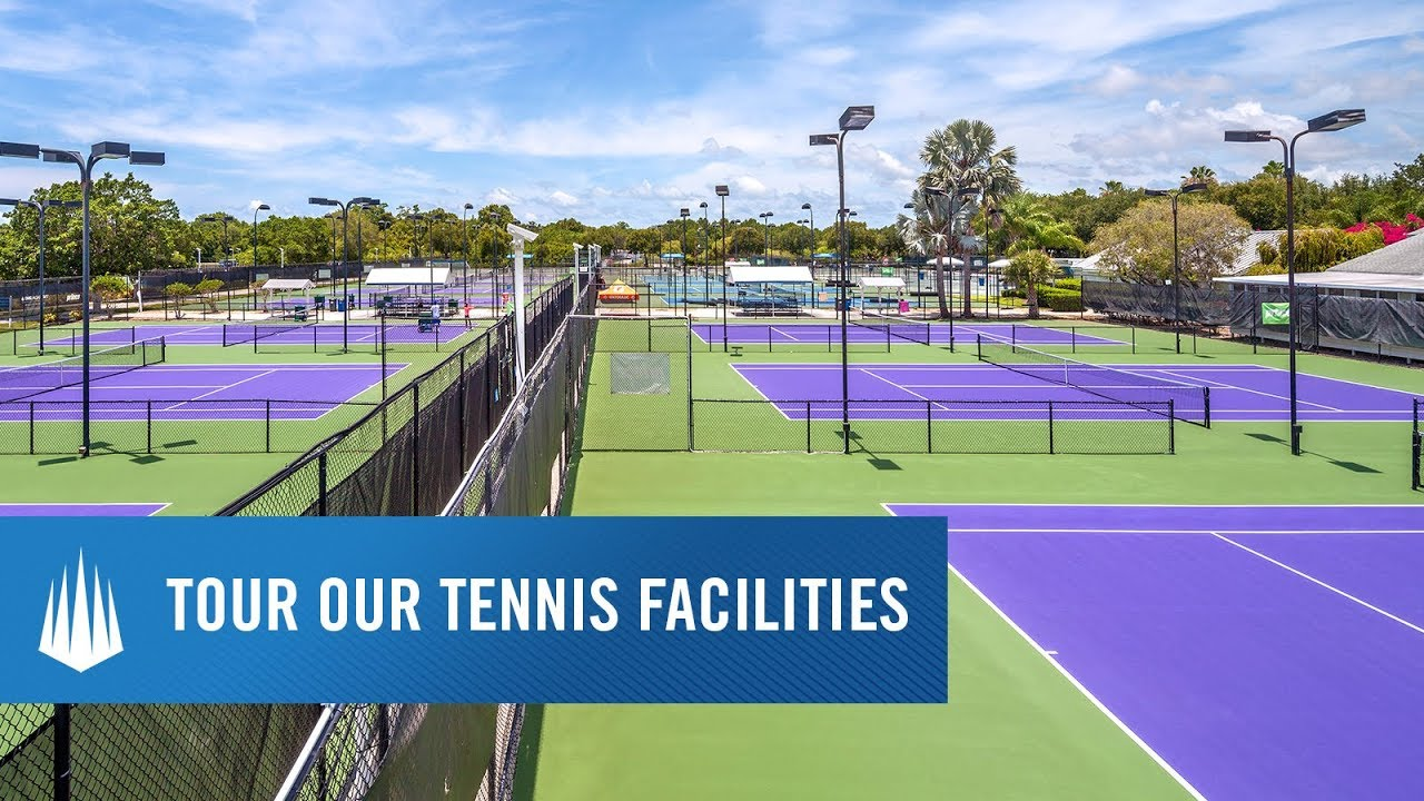 Img: IMG Academy Tennis Program Facility Highlight
