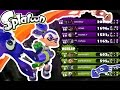 Splatoon - High Rank Team Vs. Low Rank Team - GREAT BALANCING [Wii U Gameplay]