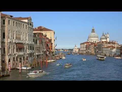 Grand Canal and Basilica Santa Maria in Venice | Stock Footage - Videohive