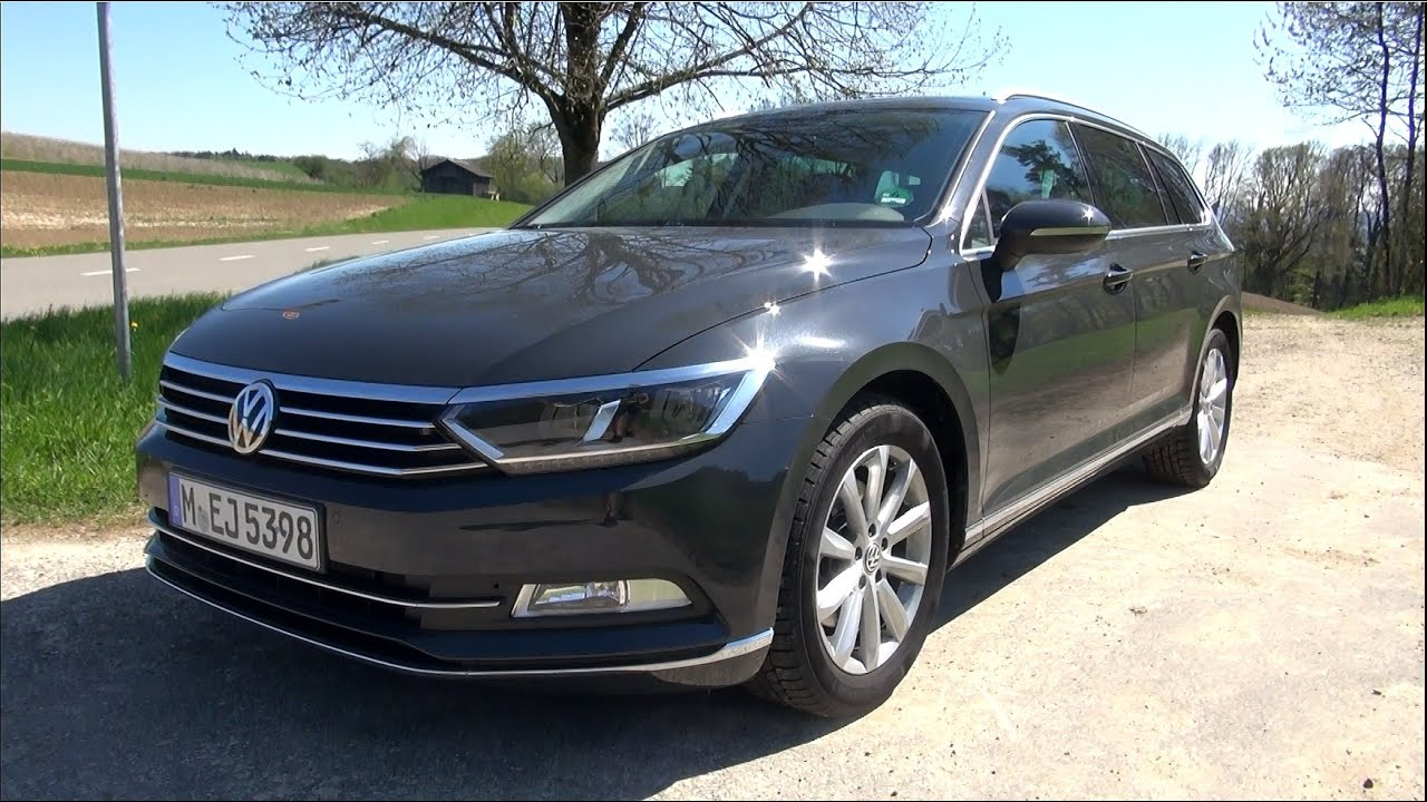 2015 vw passat variant b8 2 0 tdi 150 hp youtube. Black Bedroom Furniture Sets. Home Design Ideas