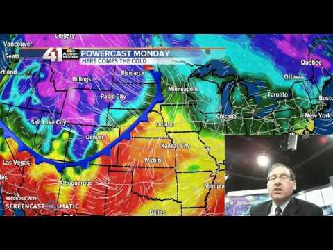 Jeff Saturday Blog Weather Update