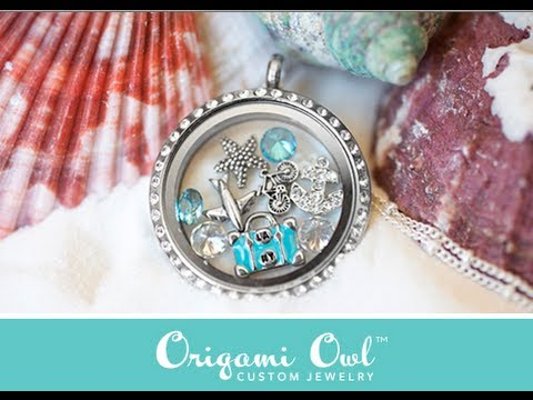 Aninimal Book: Origami Owl Jewelry Review & Giveaway {CLOSED} - YouTube