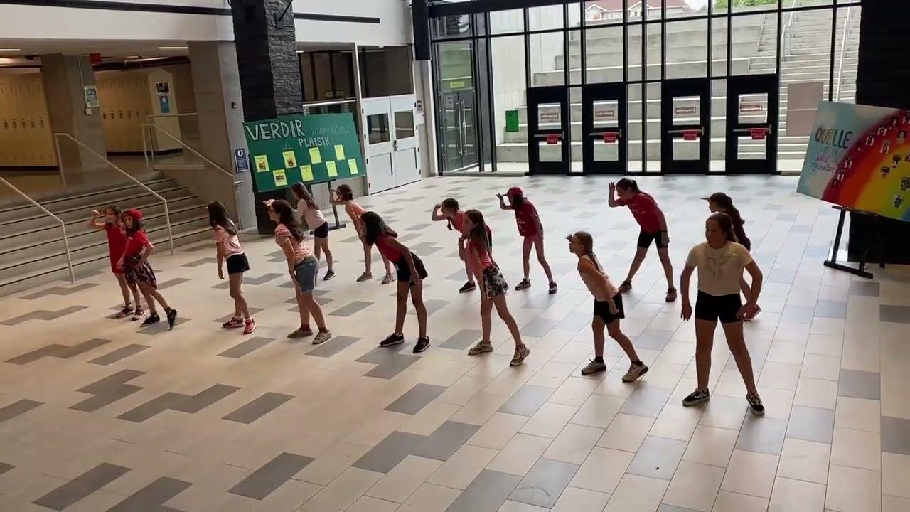 Chorégraphie camp Choréo groupe 2- Semaine 5 - Collège Montmorency