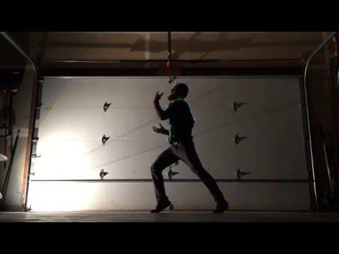 Felix Snow - Slow + Madi (Freestyle Animation Dance) (LED Vest) (HD)