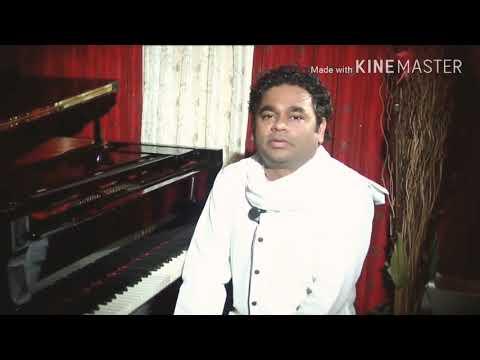AR Rahman Performing Piano From Maryan