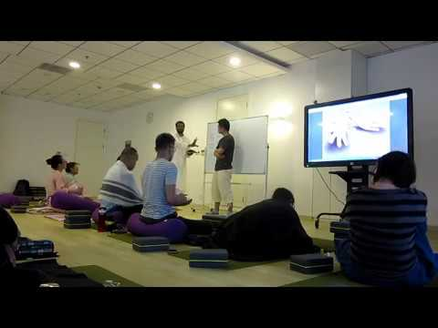 Shanghai Medical Yoga Workshop Day 3 Video 2