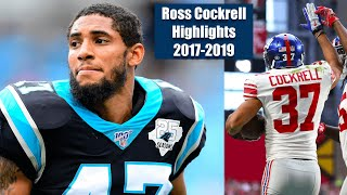 NY Giants CB Ross Cockrell Highlights 2017-2019
