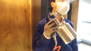 판교 _ 새집증후군 및 냄새제거 시공 분해제 살포