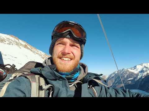 Skiing in Shymbulak!