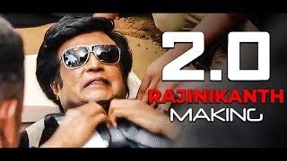 OFFICIAL: 2.0 Rajinikanth Making Reaction | Akshay Kumar | Shankar