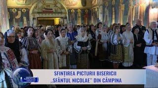 Sfintirea picturii Bisericii ,,Sfantul Nicolae din Campina