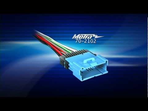 saturn 21025330 radio wiring harness color code metra saturn vehicles 2001 2005 99 3108 dash kit youtube  metra saturn vehicles 2001 2005 99 3108