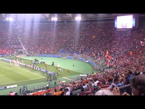 Roma-Barça, 'Roma Roma'