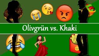 Olivgrün vs. Khaki // Beste Freunde Skypen