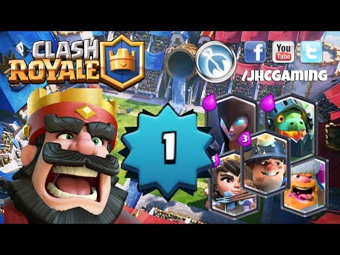Ladder on level 1 and baby account - Clash Royale
