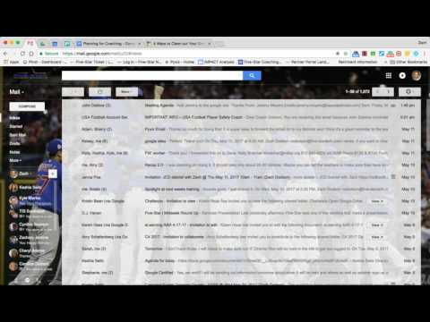 Clean Up Gmail Inbox